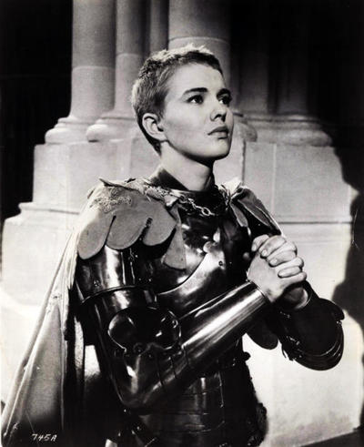 "Jean Seberg in ""Saint Joan"" (1957)"